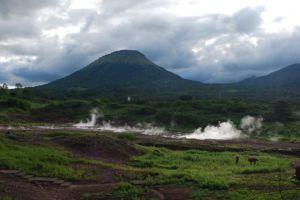 View from campsite at San Jacinto, Nicaragua