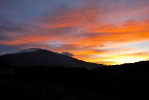 Volcan Galeras, Colombia