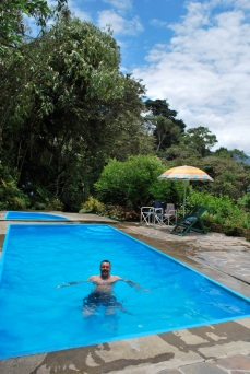 Swimming, Coroico