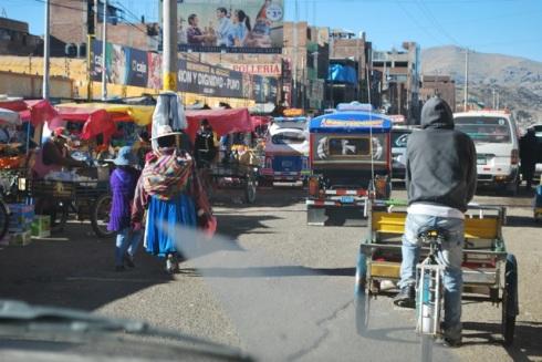 Sunday market, Puno, Peru