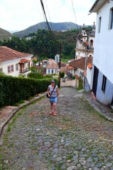 Steep streets, Ouro Preto